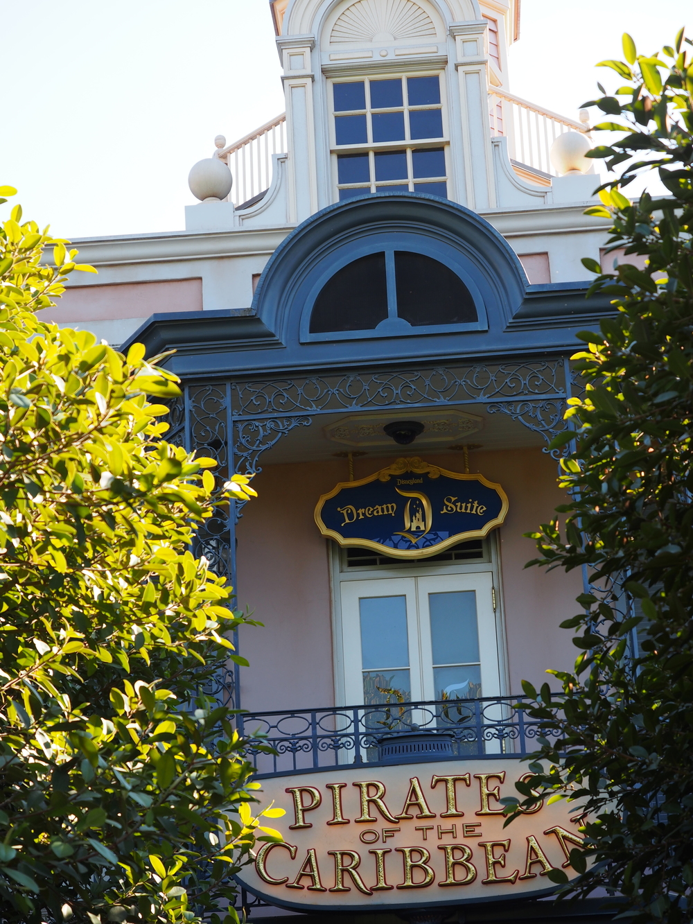Entrance over Pirates Attraction