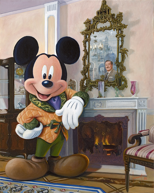 "Source: Disney Parks Merchandise. ""Mickey's Dream Suite"" by   Yakovetic"