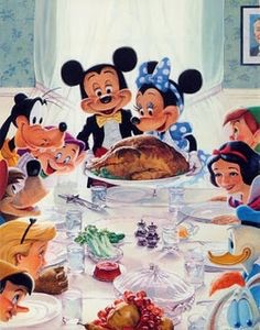 Disney Thanksgiving by Charles Boyer