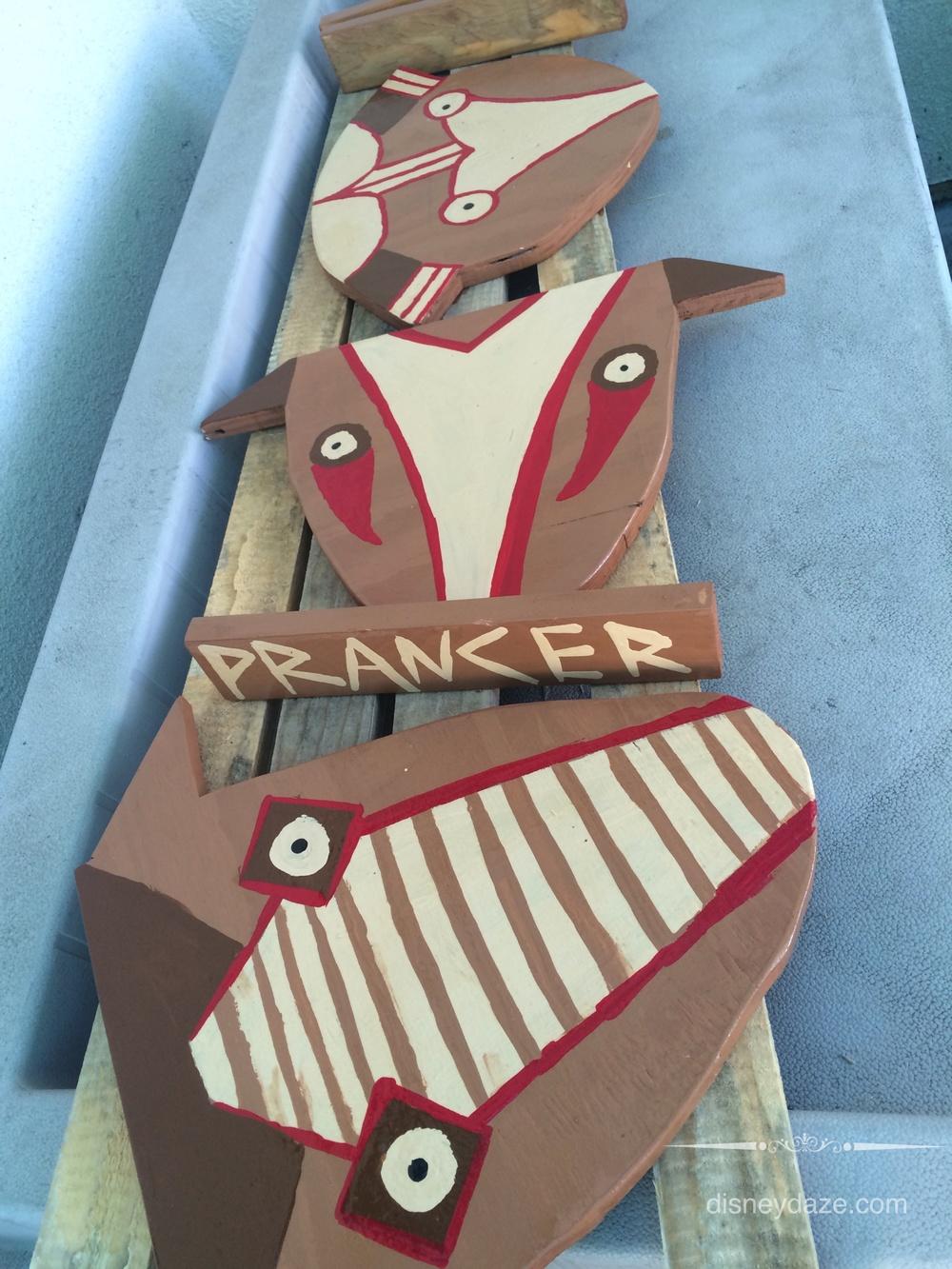 Disneyland Inspired Christmas Decorations: Part 2 - Tiki Reindeers ...