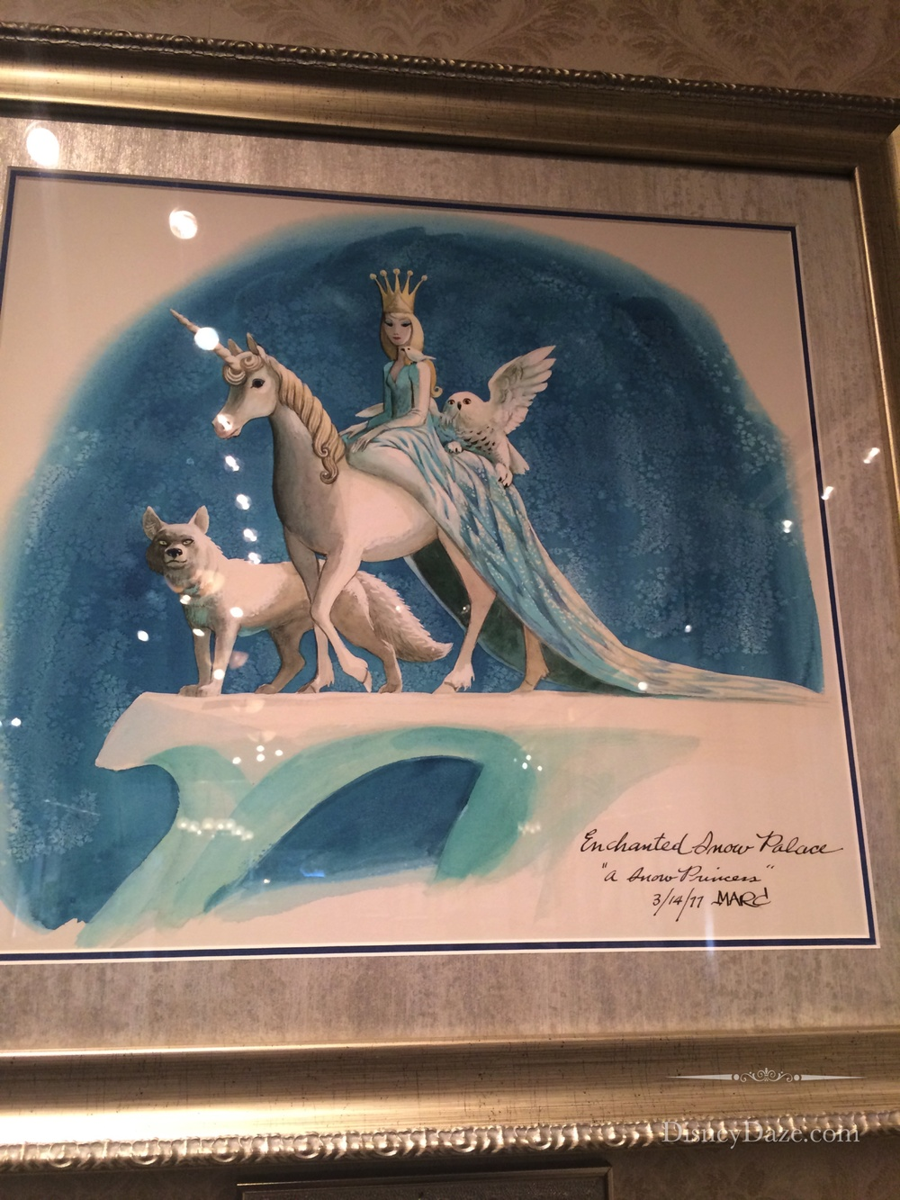 Original Artwork by Marc Davis