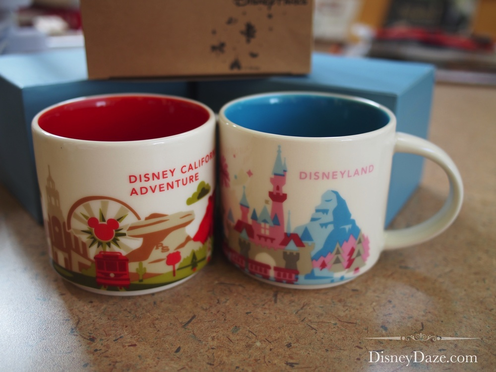 You Are Here mugs - Disneyland Parks (Anaheim, CA)
