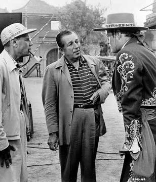 Walt Disney with Guy Williams (Zorro)