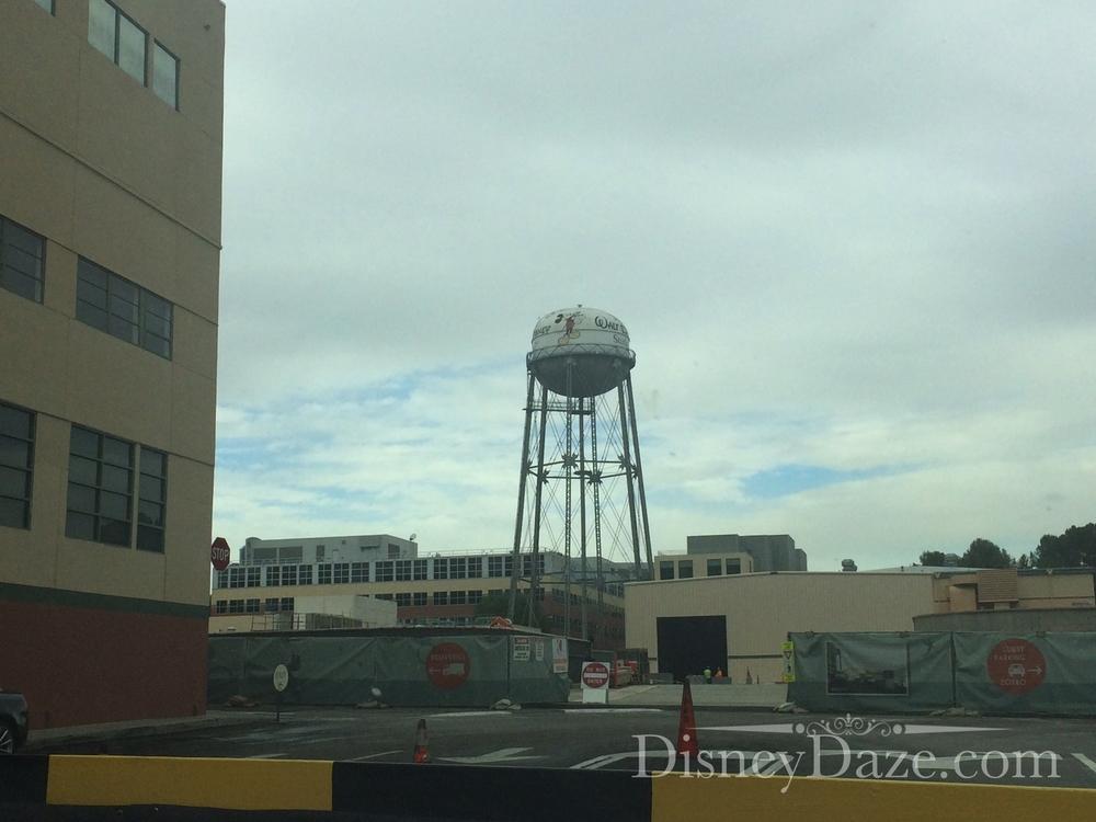 Entering the Walt Disney Studio