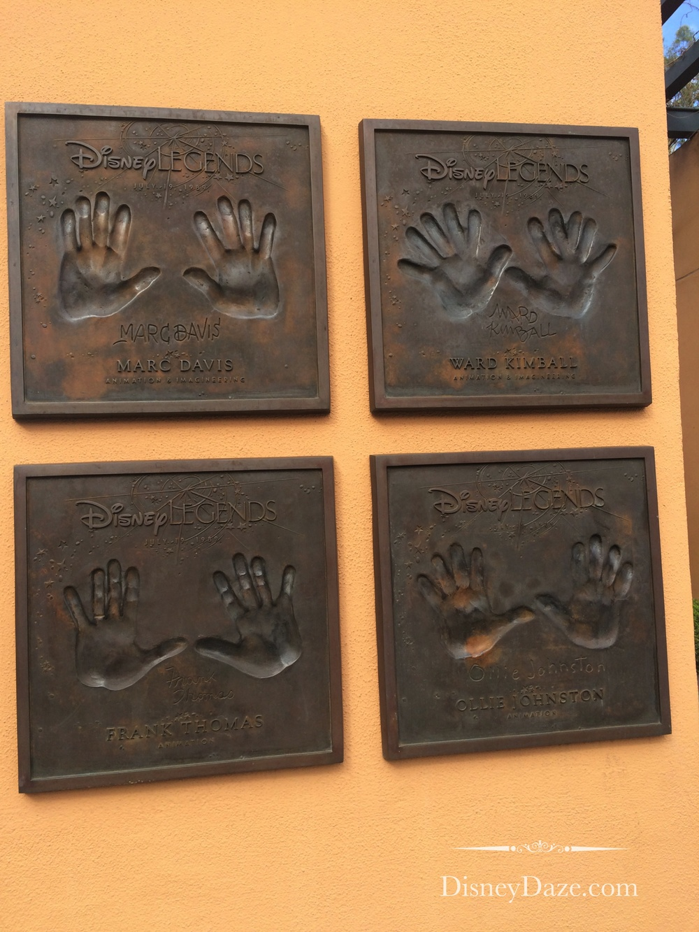 4 of Disney's Nine Old Men