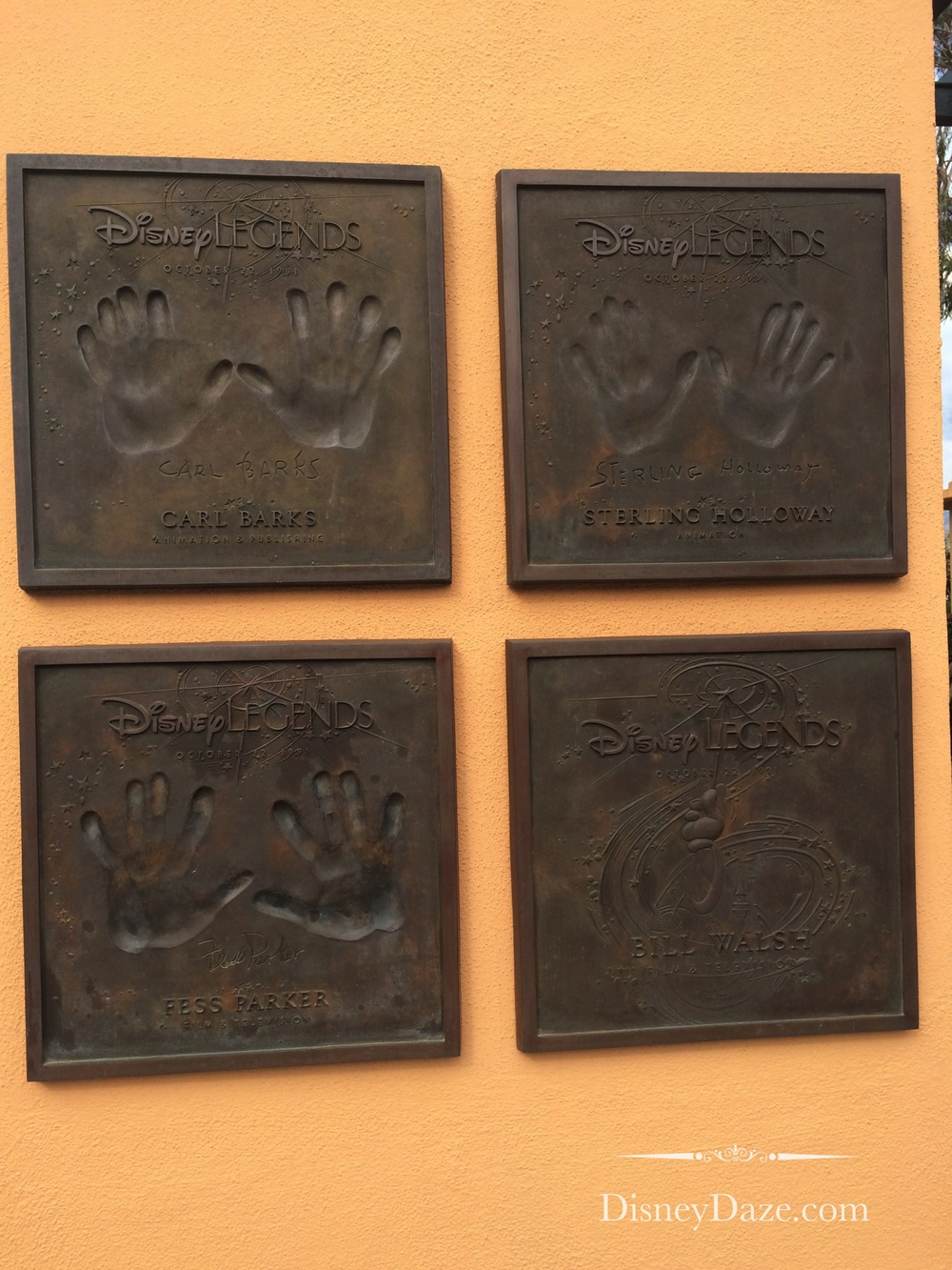 No handprints = awarded posthumously