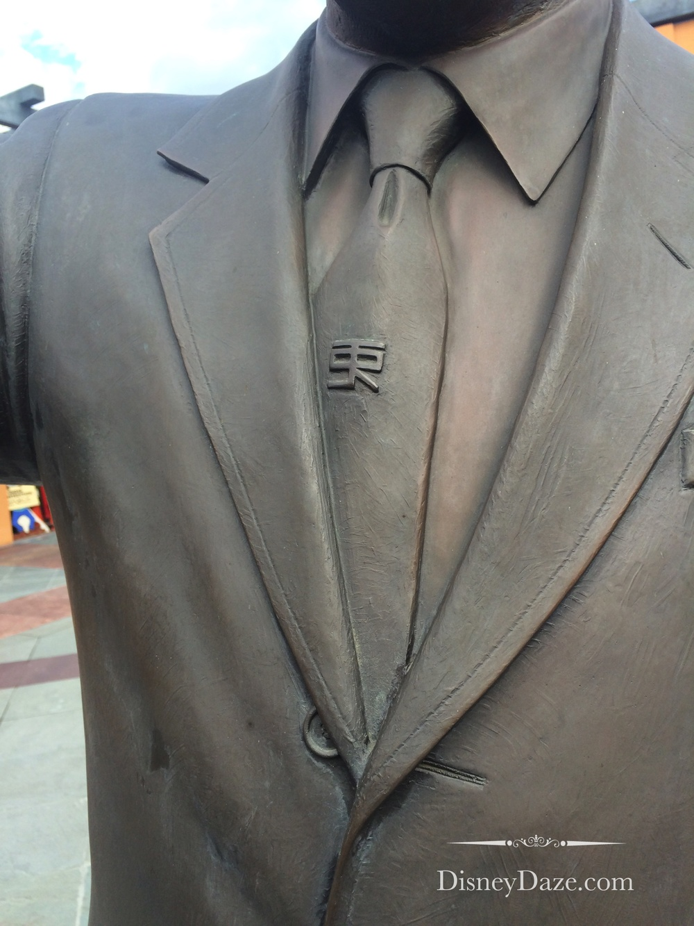 Do you know what the symbol on Walt's tie is for?