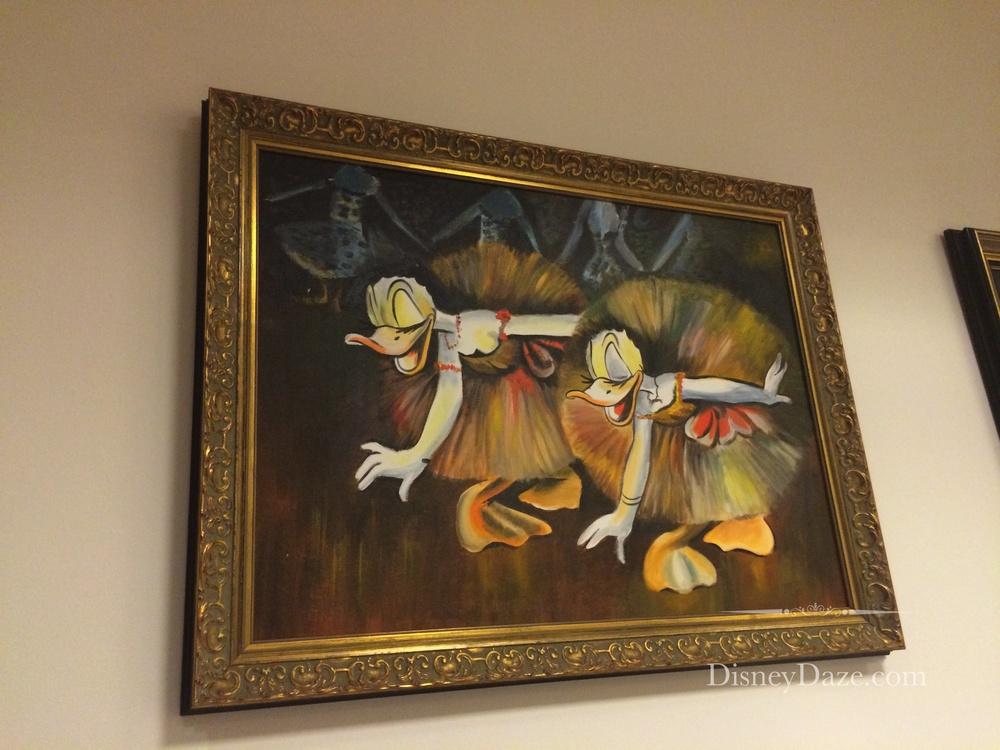 Disney version of Degas