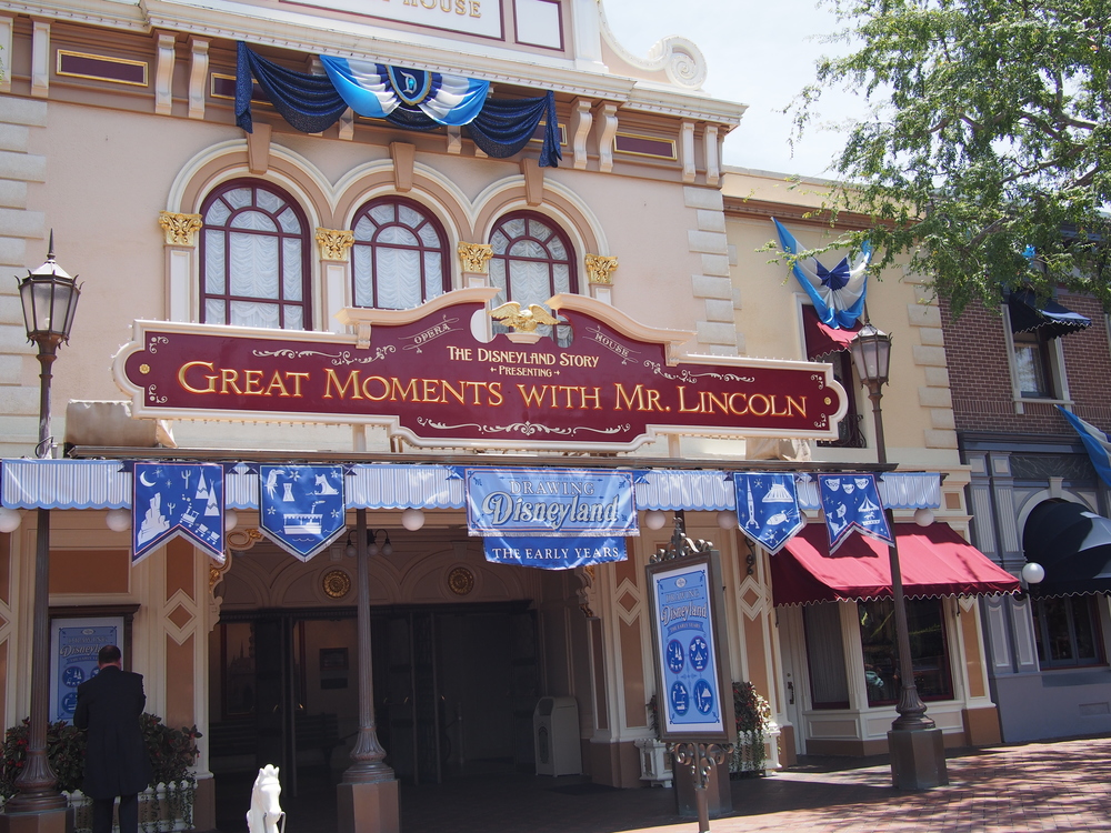 New exhibit located in lobby of Great Moments with Mr. Lincoln