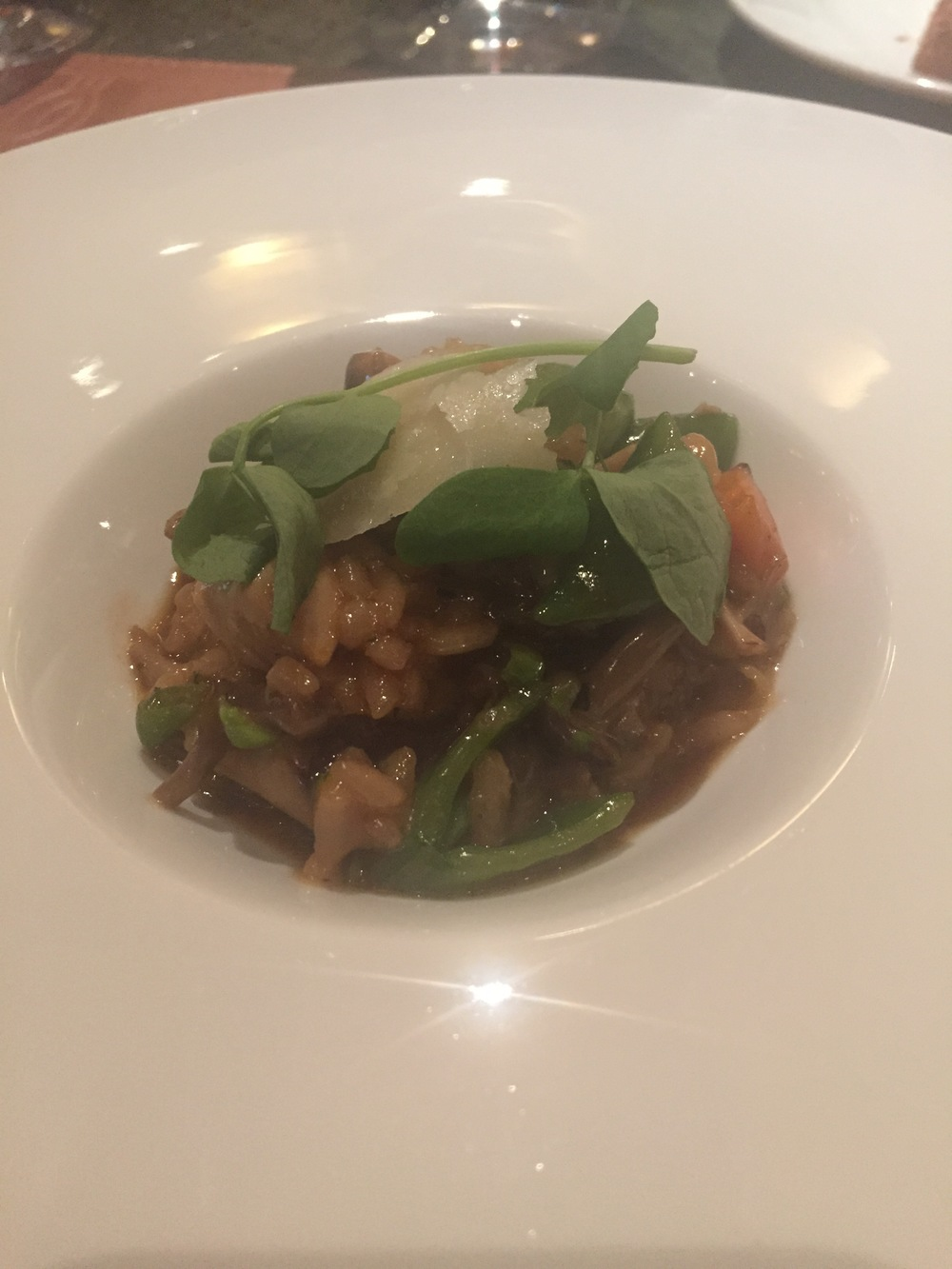 Vegatable risotto
