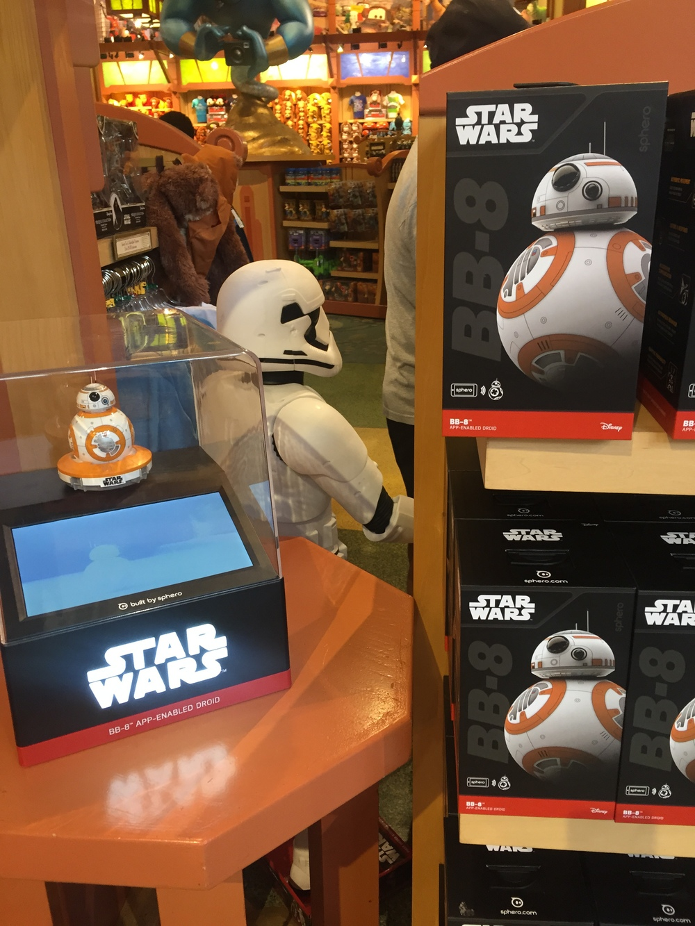 BB8 display