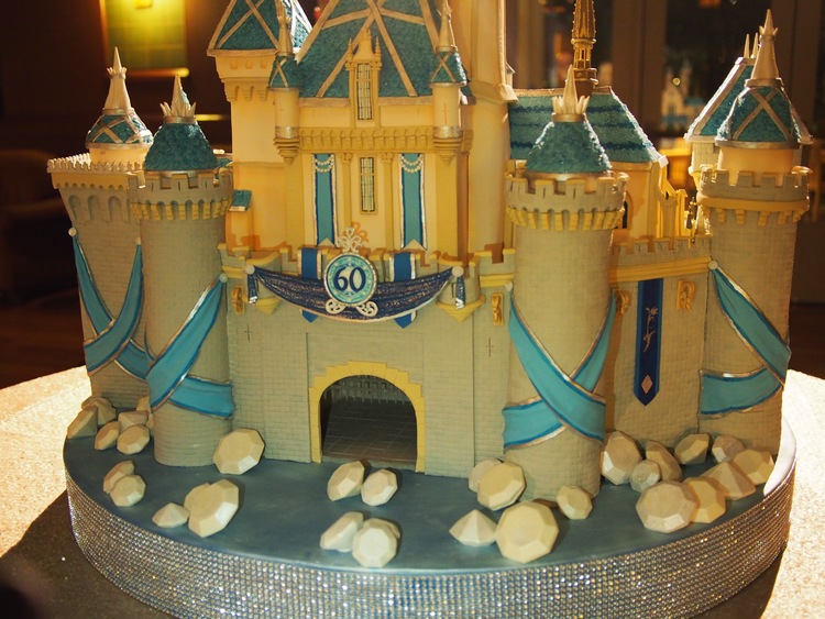 A Grand Sleeping Beauty Castle Cake At The Disneyland Resort
