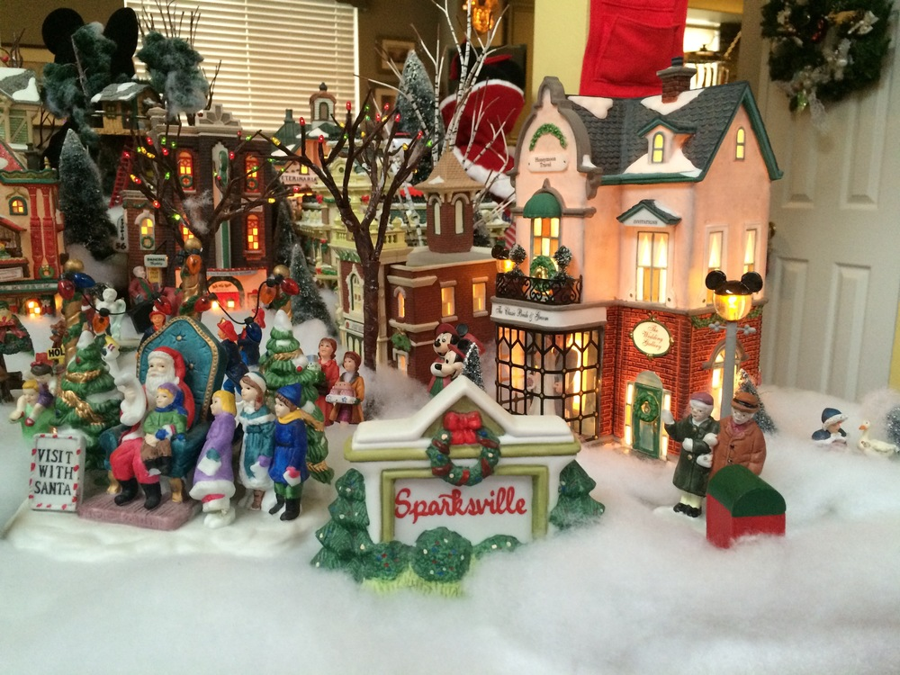 Sparks Christmas village 2013