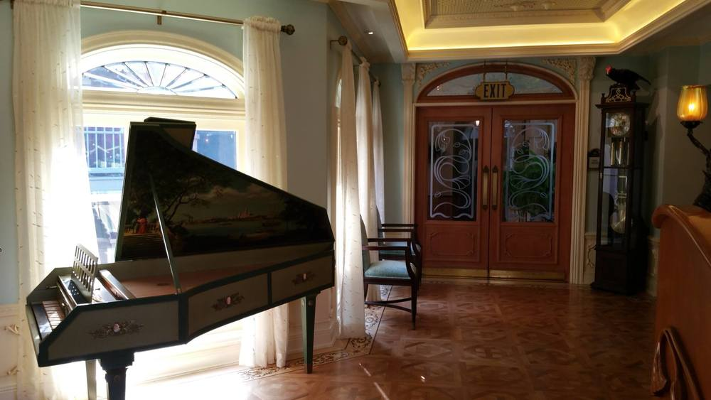 Harpsichord selected by Lilian Disney