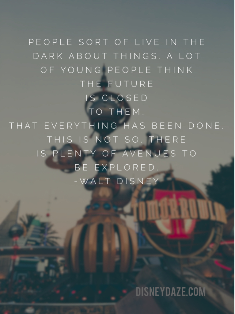 Walt Words on DisneyDaze.com