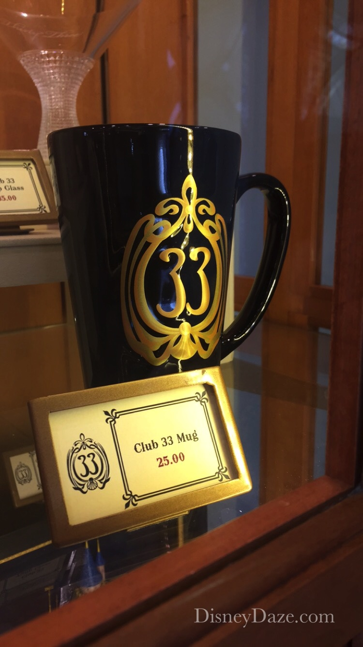 Shop Disney Disneyland S Exclusive Club 33 Merchandise