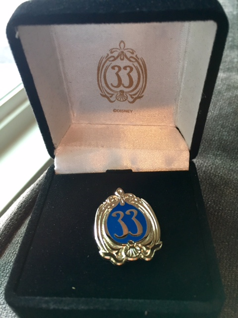 Club 33 Pin (open edition)