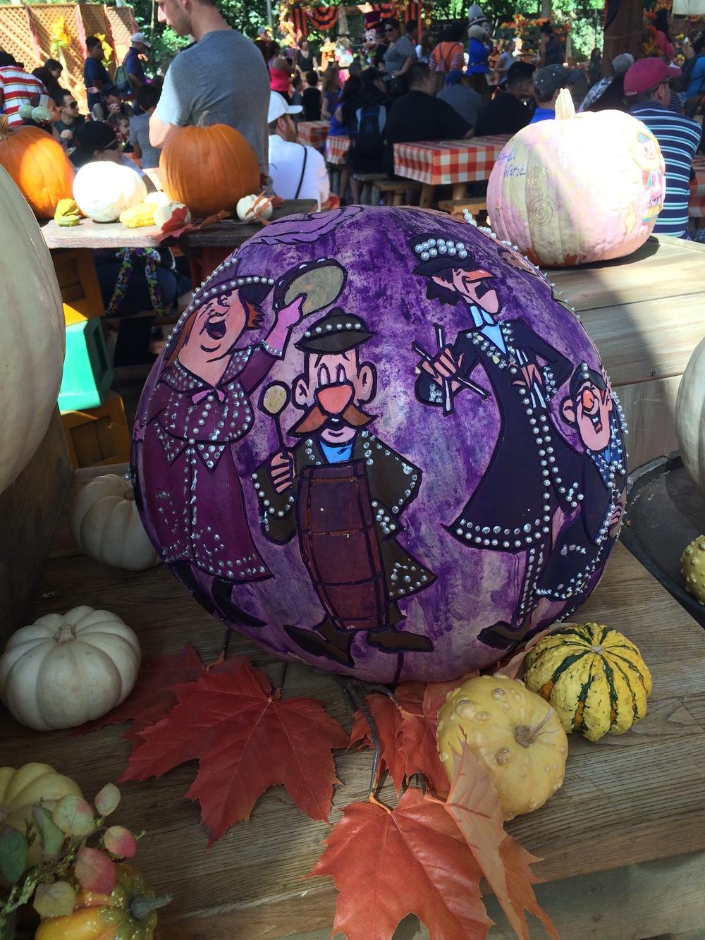 Mary Poppins:Halloween Round-up, Disneyland 2014