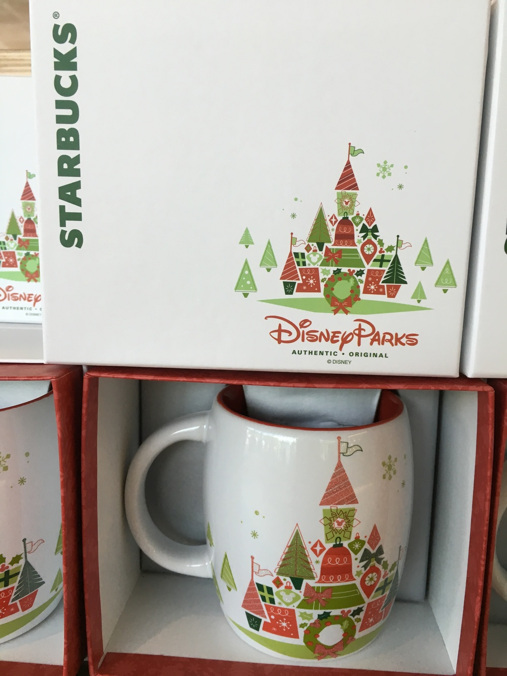 Starbucks + Christmas + Disney Parks = Magical YOU ARE HERE ...