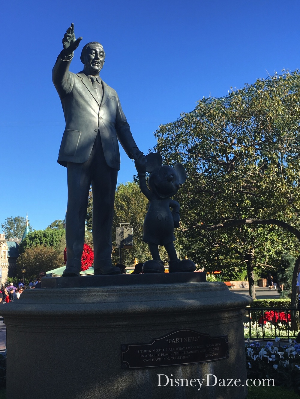 Partners Statue at Disneyland