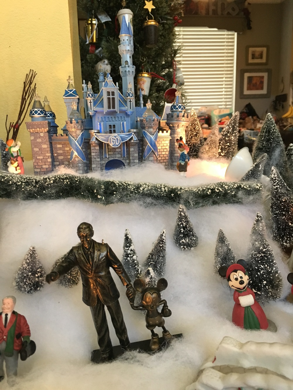 ts the most simple christmas village that weve ever put together and most fun too