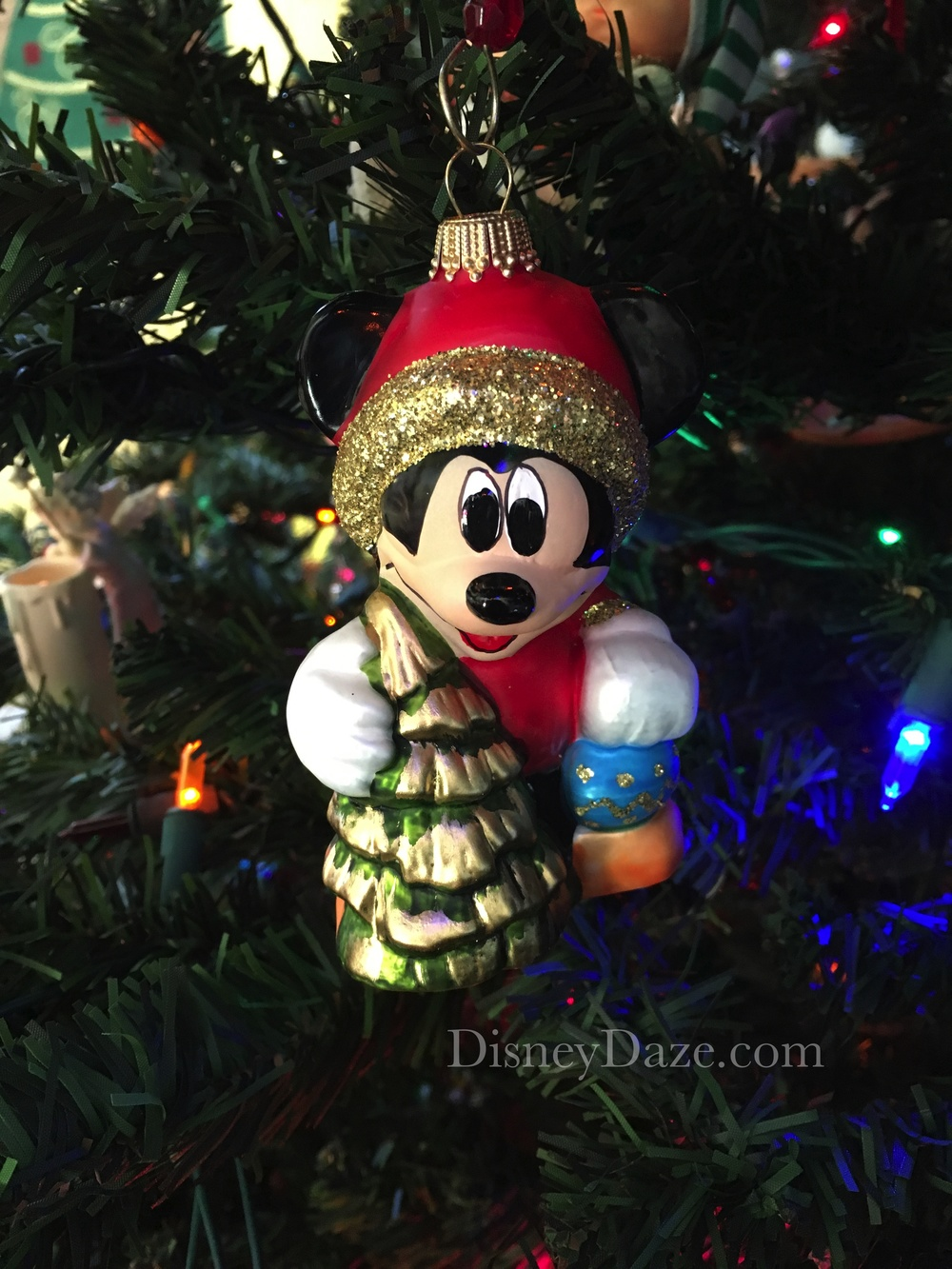 Walt Disney World Exclusive - Glass Ornament