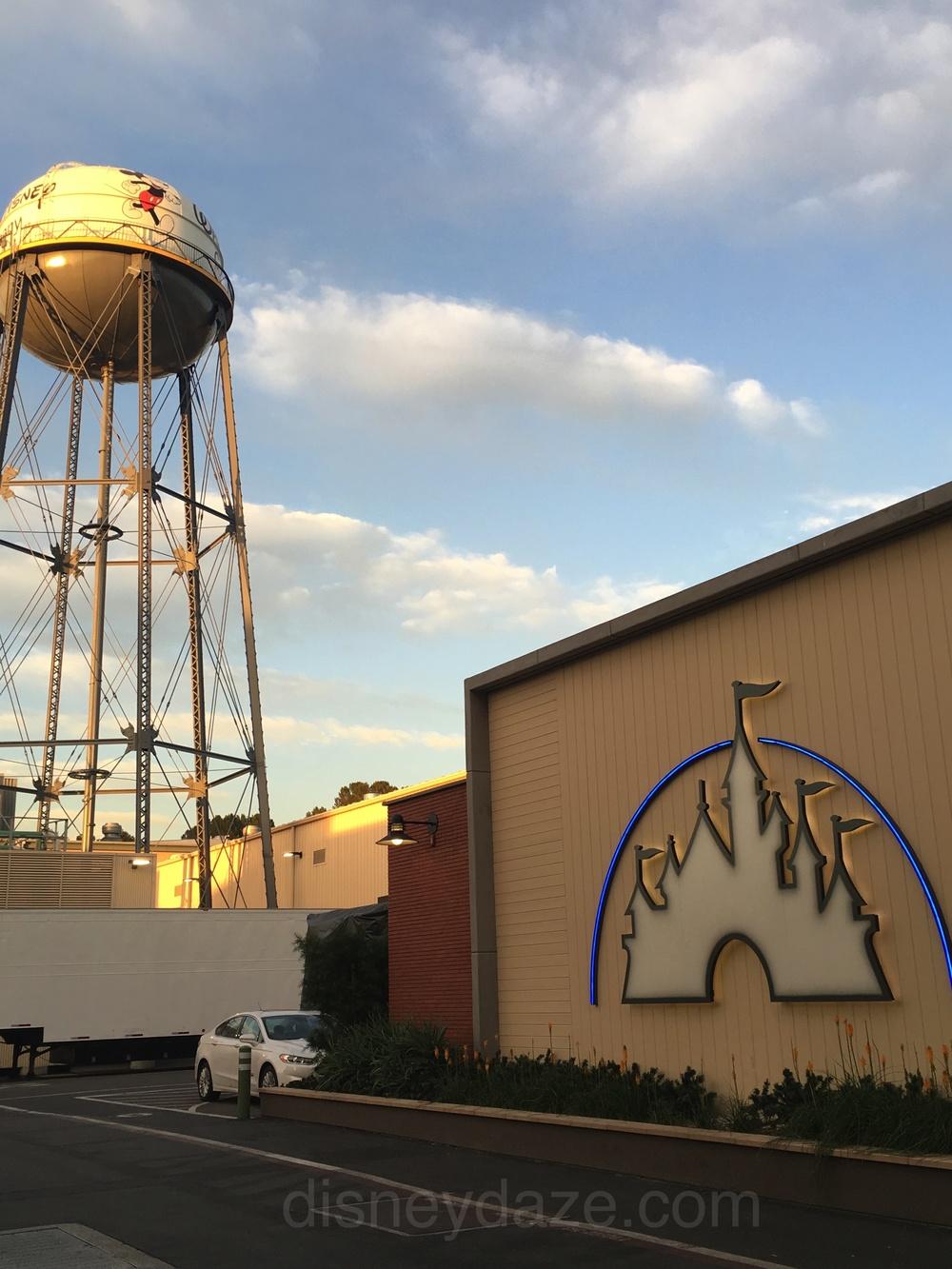 Walt Disney Studios lot -Burbank, CA.