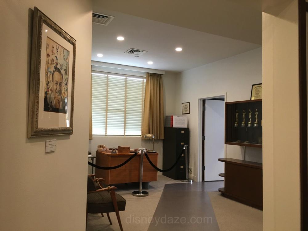 Reception area for Walt Disney Office Suite