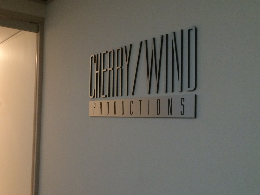 Photo from Jan 2015. Last year, Cherry/Wind Productions occupied this suite.
