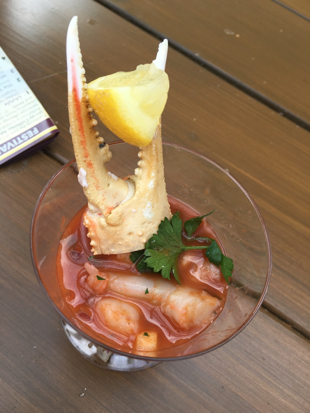 Chilled Shrimp with Snow Crab Cocktail
