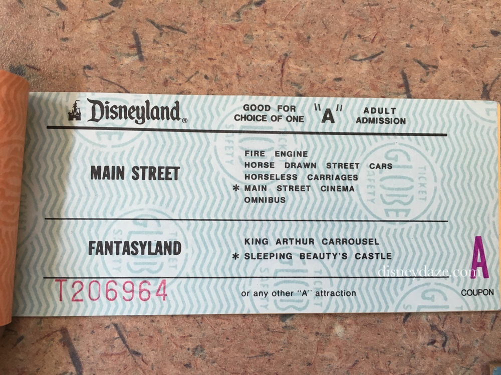 Disneyland A-Ticket (1980)
