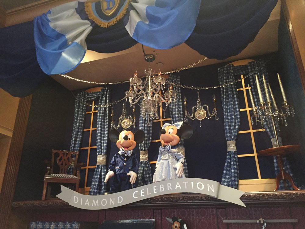 Display in Disney Showcase