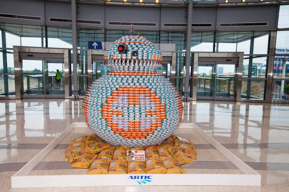 Photo from CANStruction OC Facebook page
