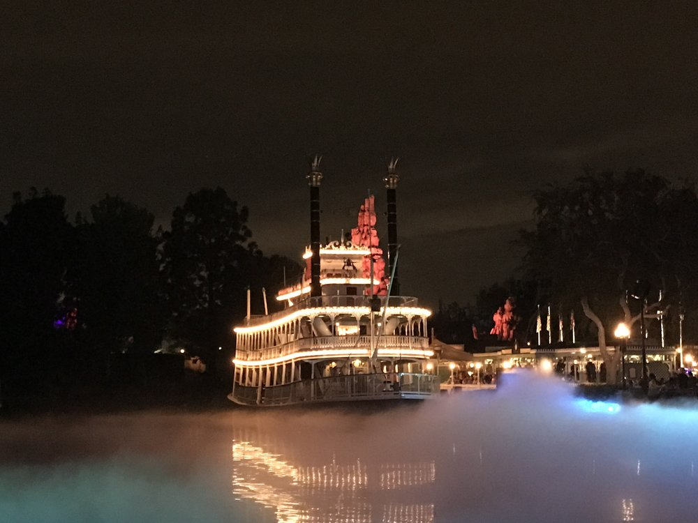 Fog along the Rivers of America
