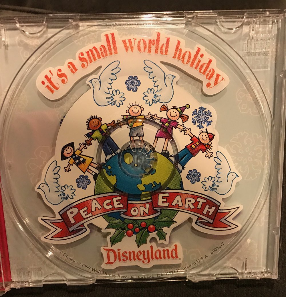 "Special CD of ""it's a small world holiday"""