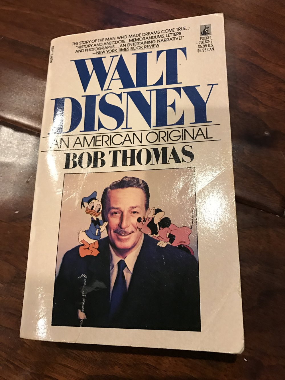 1976 version - Walt Disney, An American Original