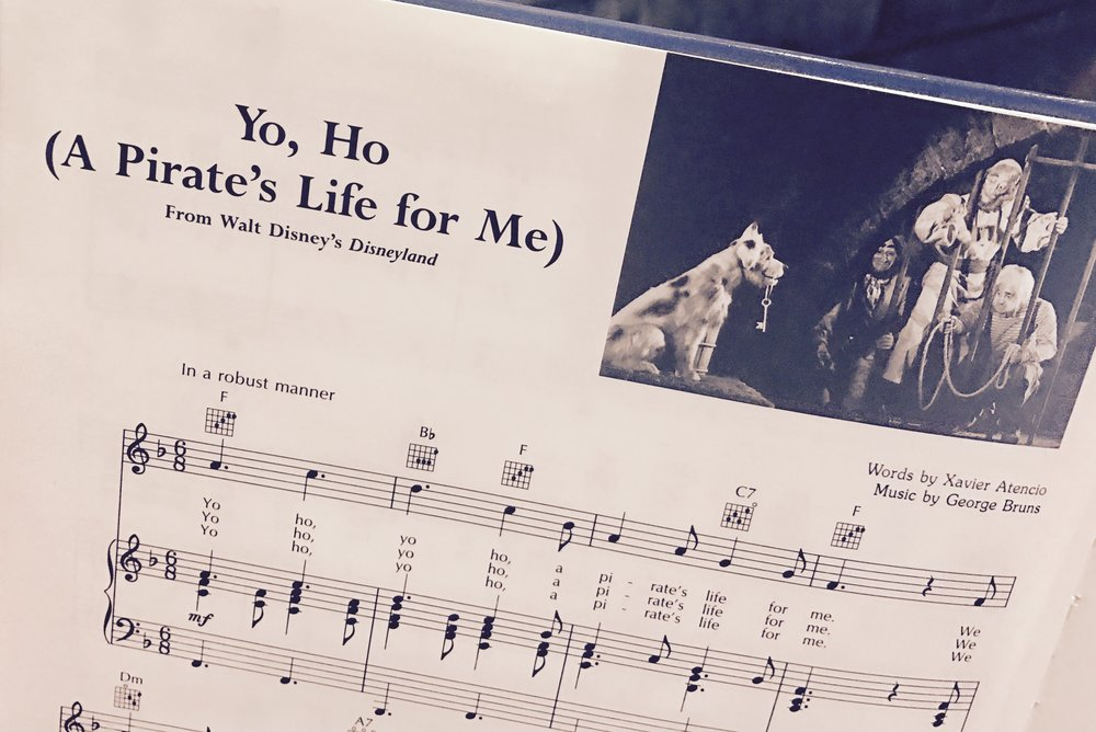 Lyric disney songs lyrics : Music Monday: Yo, Ho (A Pirate's Life for Me) — DisneyDaze