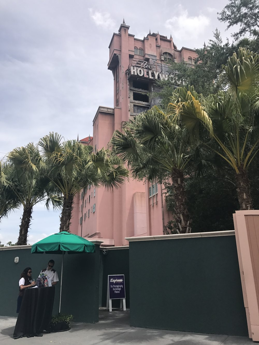 Express Transportation Check-In at Hollywood Studios