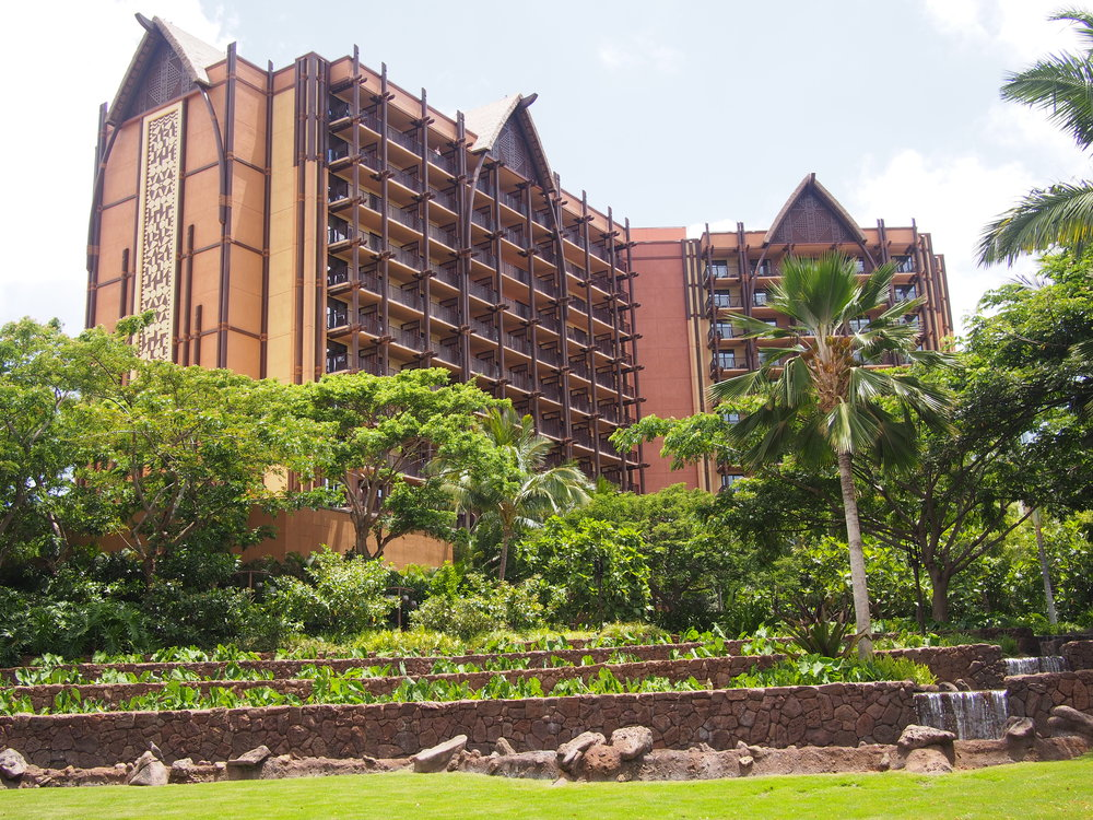 Street view of Aulani