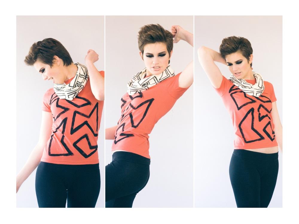 MUA: Chantal Ortega; Hair: Ana Cheadle; Model: Caitlin Horn; Photography: Alexandra Wallace