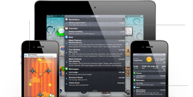 Features notification overview