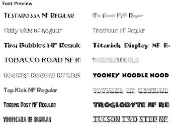 Belight fonts