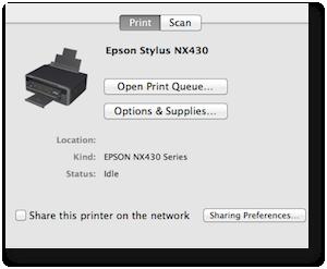 Print scan nx430