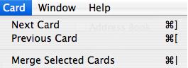 merge cards