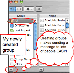add new groups