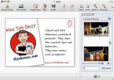 Postcard Interface Browser