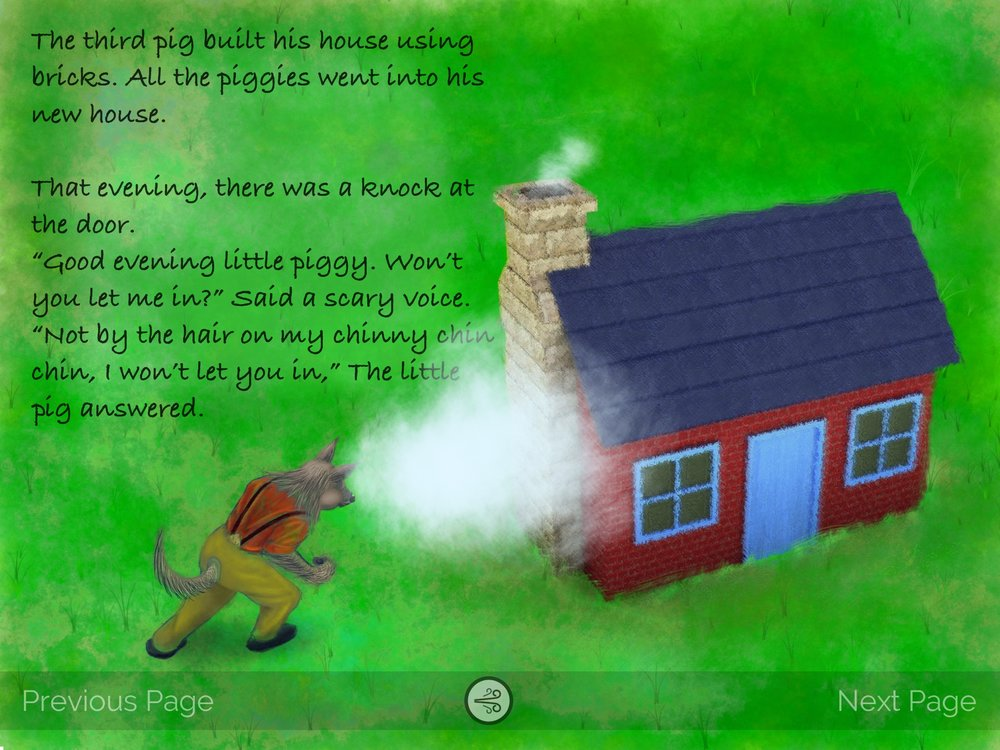 The Three Little Pigs App