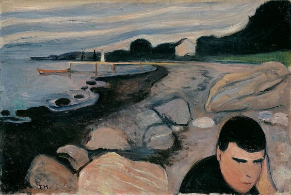 From  Frieze of Life  series by Edvard Munch -  Nasjonalmuseet / Lathion, Jacques, Public Domain