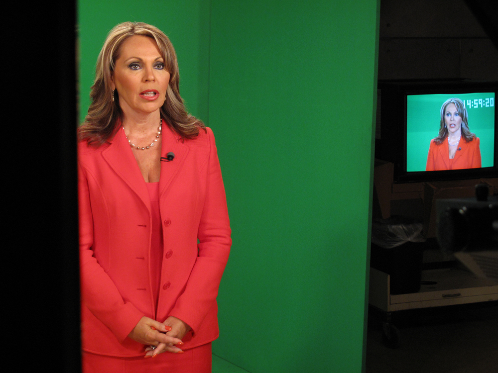 Thank you Maria Elena Salinas.  Annelise Paull on camera and Rick Lombardo on sound.
