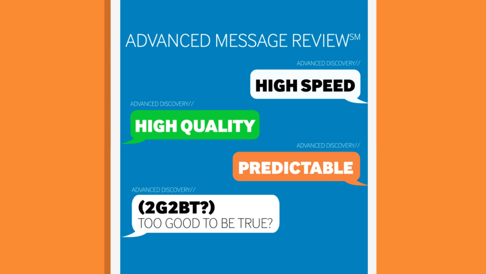 ADVANCED DISCOVERY  Advanced Message Review